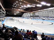 スケート大会の様子